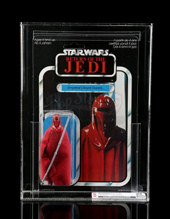 Lot # 90 - Palitoy Emperor's Royal Guard ROTJ65C CAS 85