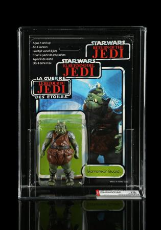 Lot # 100 - Palitoy Gamorrean Guard Tri-Logo70B AFA 75