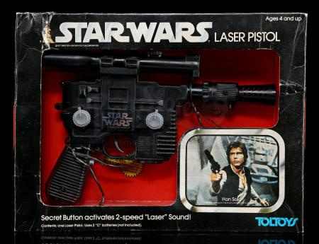 Lot # 102 - Toltoys Han Solo Laser Pistol