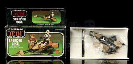Lot # 104 - Lili Ledy Speeder Bike - Unused [Kazanjian Collection]