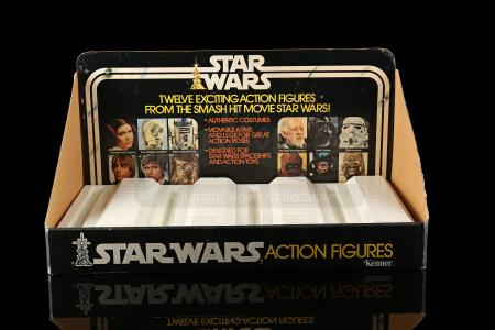 Lot # 109 - Kenner 12-Back Complete Bin With Header Display