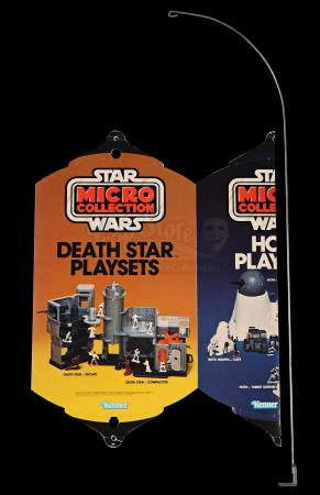 Lot # 113 - ESB Micro Collection 3-Sided Hanging Mobile Display with Original Shipping Box