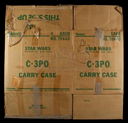 Lot # 120 - C-3PO Carrying Case Shipping Box