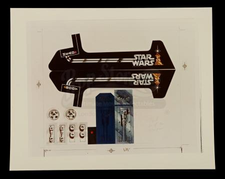 Lot # 130 - Radio Controlled R2-D2: Remote Control Sticker Artwork Print