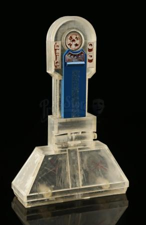 Lot # 135 - Radio Controlled R2-D2: Leg Model (Clear Plastic)