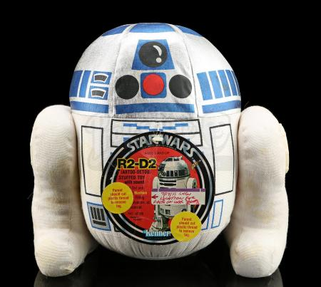 Lot # 144 - R2-D2 Plush Toy Quality-Control Sample Prototype