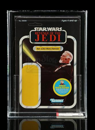 Lot # 150 - ROTJ Proof Card - Ben (Obi-Wan) Kenobi 48A AFA 85