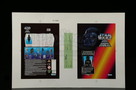 Lot # 167 - TIE Fighter Pilot European Cardback Proof