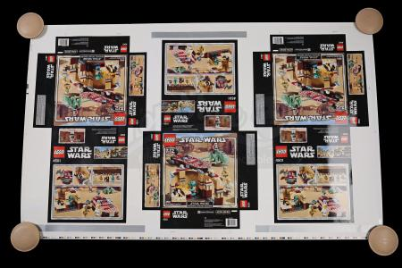 Lot # 170 - Lego Mos Eisley Cantina #4501 Play-Set Proof Sheet