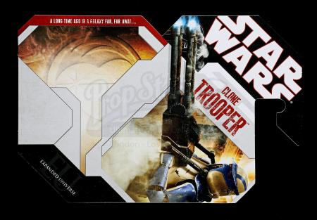 Lot # 177 - Unproduced Clone Trooper Cardback
