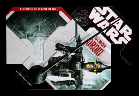 Lot # 178 - Unproduced IG Lancer Droid Cardback