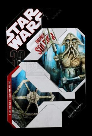 Lot # 179 - Unproduced Quarren Soldier Cardback