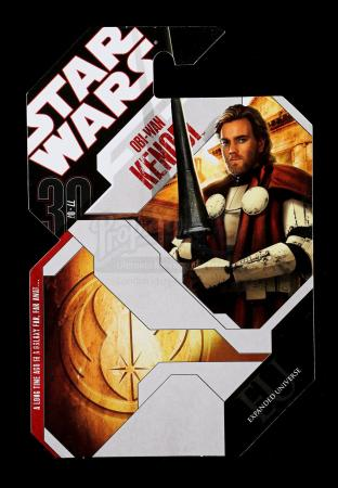 Lot # 180 - Unproduced Obi-Wan Kenobi Cardback