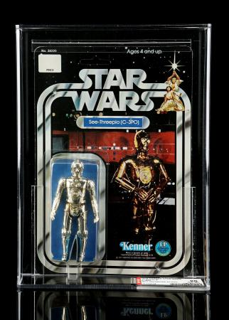 Lot # 183 - C-3PO (SKU On Footer) SW12A AFA 90