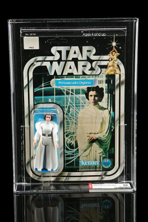 Lot # 184 - Princess Leia Organa SW12C AFA 80