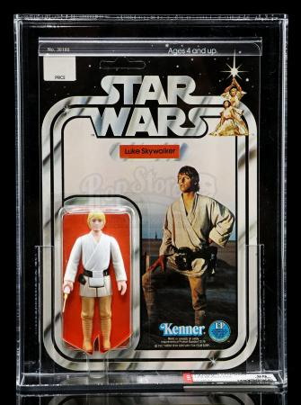 Lot # 185 - Luke Skywalker SW12A AFA 90
