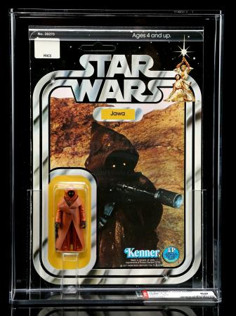 Lot # 190 - Jawa With Vinyl Cape SW12A AFA 80
