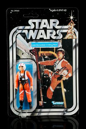 Lot # 198 - Luke Skywalker: X-Wing Pilot SW21A