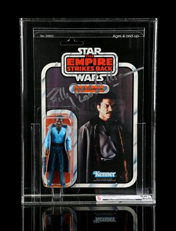 Lot # 206 - Billy Dee Williams-Signed Lando Calrissian ESB31B CAS 80Y+