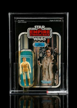 Lot # 210 - Leia (Hoth Outfit) ESB41D AFA 80Y+ [Kazanjian Collection]