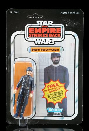 Lot # 231 - Bespin Security Guard (White) (Handlebar Mustache) ESB41A