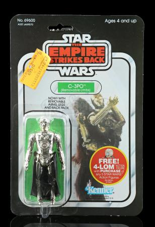 Lot # 235 - C-3PO (Removable Limbs) ESB47