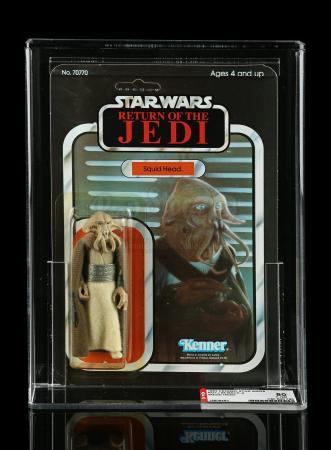 Lot # 239 - Squid Head ROTJ65A AFA 80Y