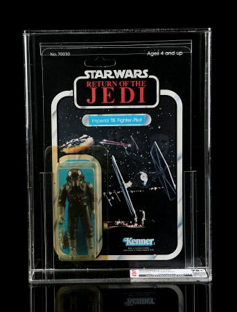 Lot # 250 - Imperial TIE Fighter Pilot ROTJ77A CAS 75Y+