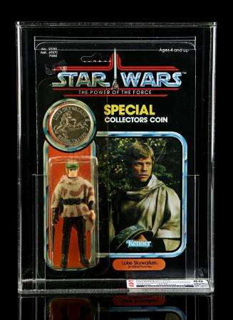 Lot # 286 - Luke Skywalker (In Battle Poncho) POTF CAS 80Y