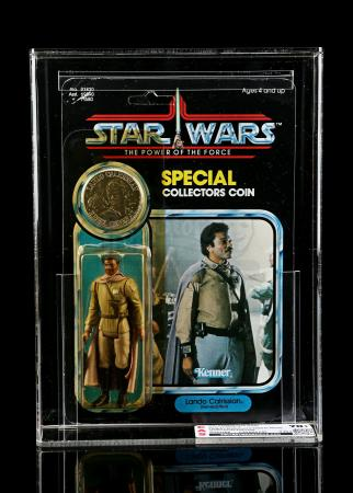 Lot # 294 - Lando Calrissian (General Pilot) POTF CAS 70Y+
