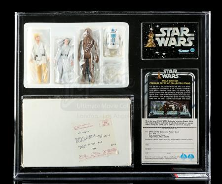 Lot # 305 - Star Wars Early Bird Set Mailer Kit AFA 80+