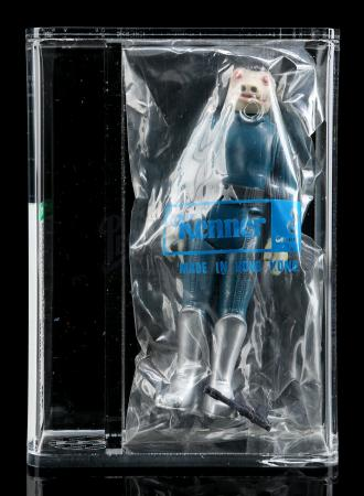 Lot # 306 - Blue Snaggletooth (Bagged) AFA 85+