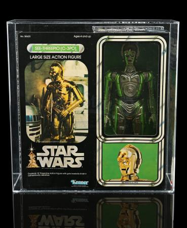 Lot # 312 - Large Size C-3PO AFA 80