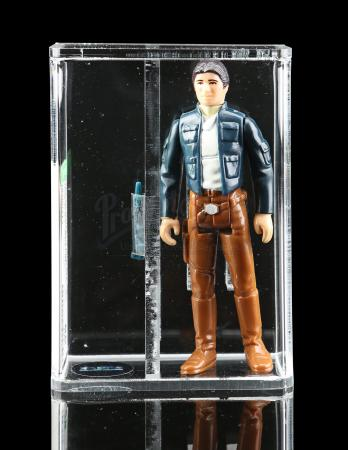 Lot # 354 - Loose Han Solo (Bespin Outfit) AFA 85