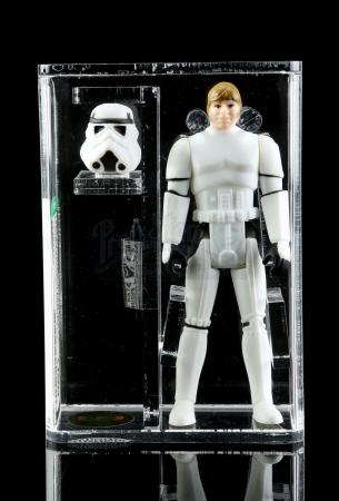 Lot # 385 - Loose Luke Skywalker (Stormtrooper) AFA U90