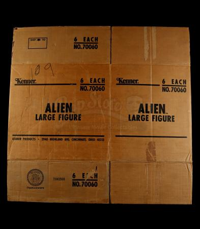 "Lot # 387 - Alien 18"" Figure Original Factory Shipping Case"