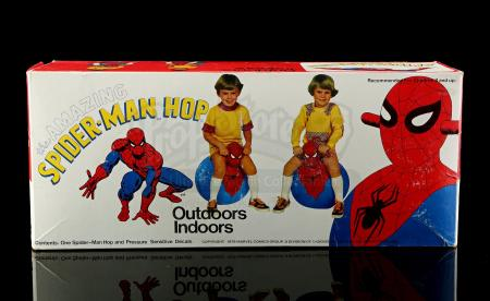 Lot # 389 - The Amazing Spider-Man Hippity Hop Bouncing Toy