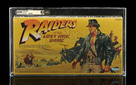 Lot # 464 - Raiders Of The Lost Ark AFA 85 - Sealed