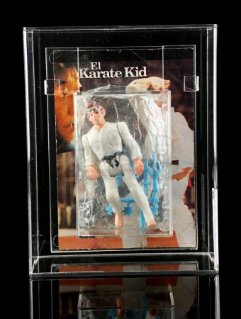 Lot # 477 - Karate Kid Mexican Bootleg CAS 70
