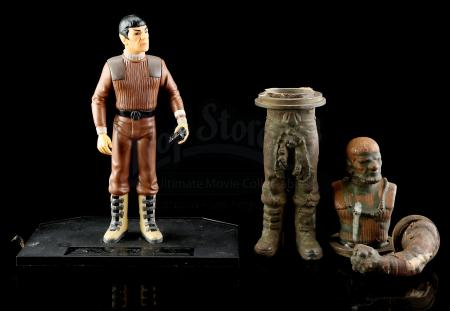 Lot # 537 - Mr. Spock Rotomold With Production Toy