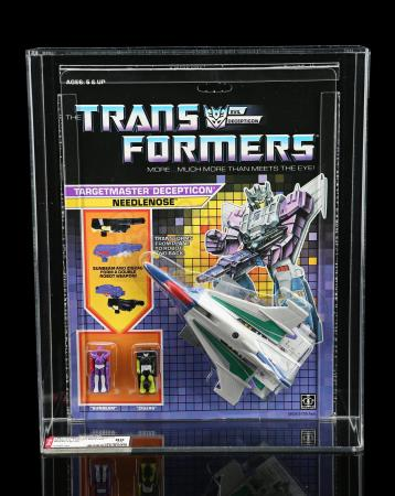 Lot # 599 - Needlenose Series 4 Targetmaster AFA 80