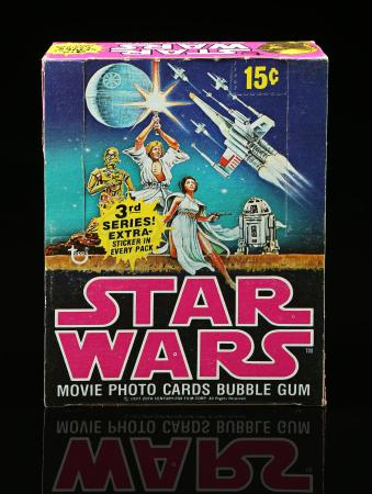Lot # 620 - Topps Star Wars Movie Photo Cards Bubble Gum (3rd Series)