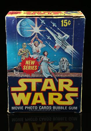 Lot # 622 - Topps Star Wars Movie Photo Cards Bubble Gum (2nd Series) - Unused