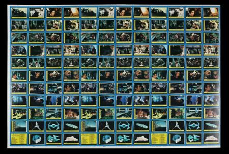 Lot # 624 - Topps ROTJ Trading Cards Proof Sheet (Blue Series)
