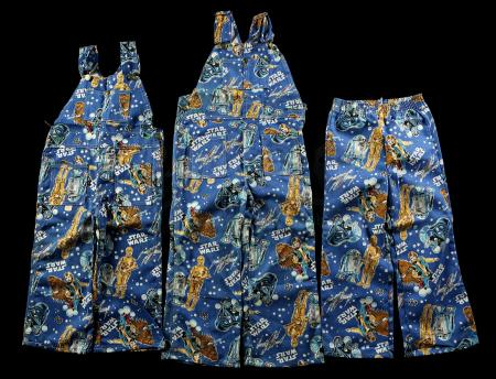 Lot # 628 - Child's Pants (1 Style) and Long-Pant Overalls (2 Styles)