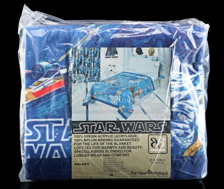 Lot # 629 - Star Wars Bedding Set - Sealed [Kazanjian Collection]