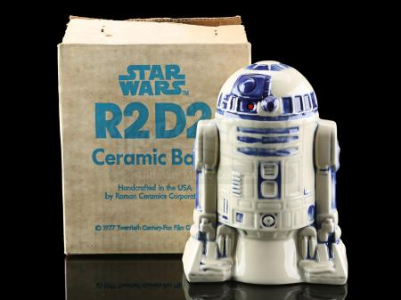 Lot # 638 - R2-D2 Ceramic Bank [Kazanjian Collection]