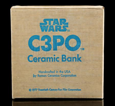 Lot # 651 - C-3PO Ceramic Bank [Kazanjian Collection]