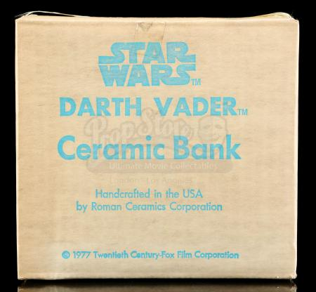 Lot # 652 - Darth Vader Ceramic Bank [Kazanjian Collection]
