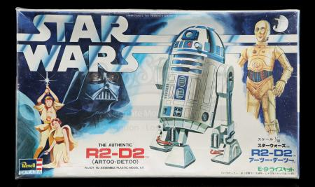 Lot # 655 - Revell/Takara Japanese R2-D2 Plastic Model Kit